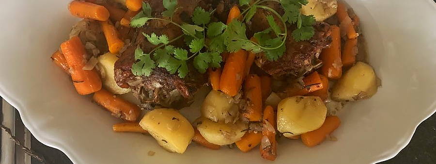 Delicious whole lamb neck recipe – an Easter delight
